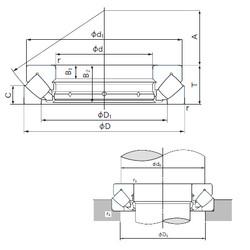 29452E NACHI Roller Bearings