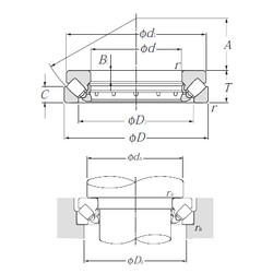 29416 NTN Thrust Roller Bearings