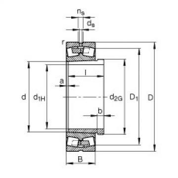 241/630-B-K30-MB + AH241/630-H  Aligning Bearings