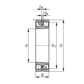 241/1000-B-K30-MB  Self-aligning Bearing