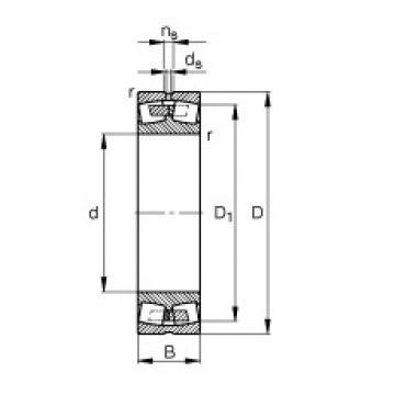 24076-B-MB  Aligning Roller Bearing