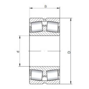 24096W33 ISO Aligning Roller Bearing