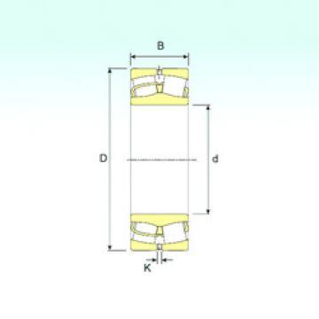 241/600 ISB Roller Bearings