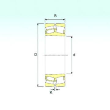 24072 K30 ISB Aligning Roller Bearing