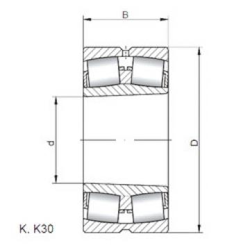 24072 K30W33 ISO Sealed Bearing