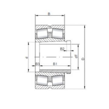 24080 K30CW33+AH24076 ISO Aligning Bearings