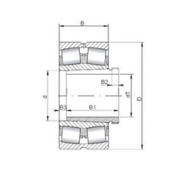 241/560 K30CW33+AH241/560 ISO Aligning Bearings