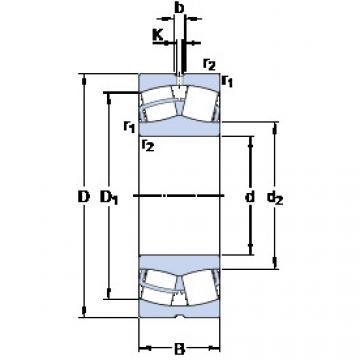 241/560 ECJ/W33 SKF Roller Bearings