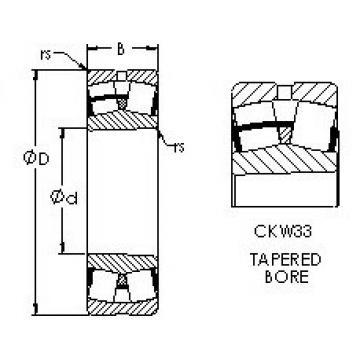 24068CAK30W33 AST Roller Bearings