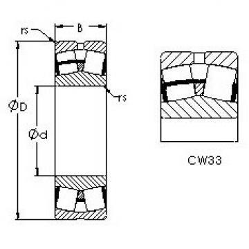 24068CAW33 AST Self-aligning Bearing