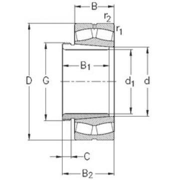 24084-K30-MB-W33+AH24084 NKE Spherical Roller Bearings