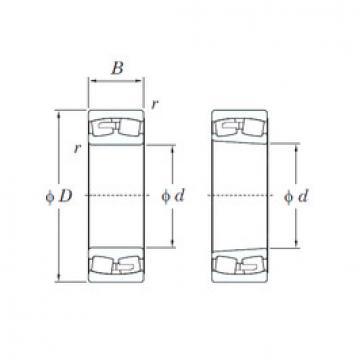 241/530R KOYO Aligning Roller Bearing