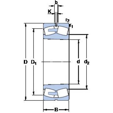 241/1000 ECAK30F/W33 SKF Aligning Roller Bearing