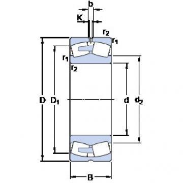 241/1000 ECAF/W33 SKF Self-aligning Bearing