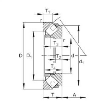 294/850-E-MB FAG Thrust Roller Bearings