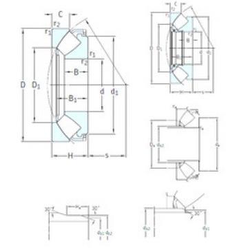 29426E SKF Thrust Roller Bearings