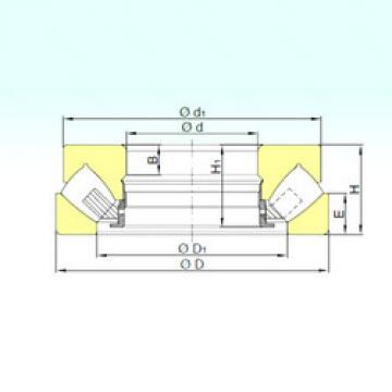 29344 M  Thrust Roller Bearings