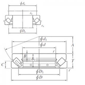 294/710 KOYO Thrust Roller Bearings