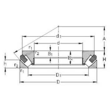 29460-M NKE Thrust Roller Bearings