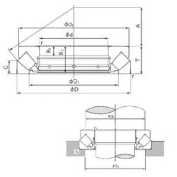 29414E NACHI Thrust Roller Bearings