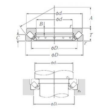 29436 NTN Thrust Roller Bearings