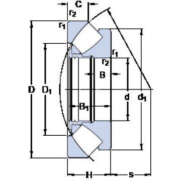 294/670 EM SKF Thrust Bearings
