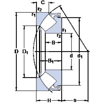 29417 E SKF Thrust Bearings
