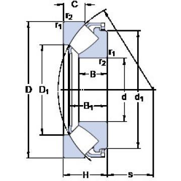 29464 E SKF Thrust Bearings