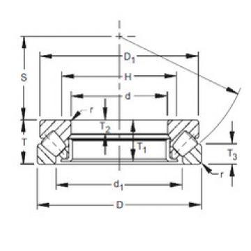 29448EM  Thrust Roller Bearings