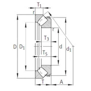 29340-E1 INA Thrust Bearings