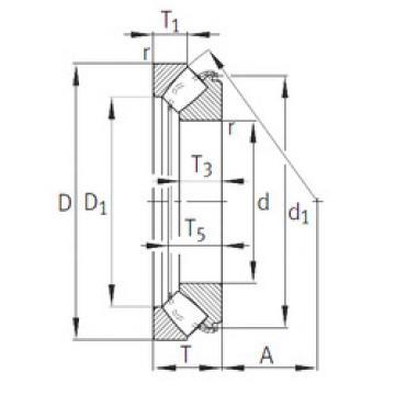 29464-E1 INA Thrust Roller Bearings