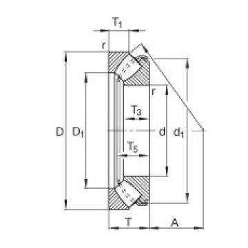 29417-E1 FAG Thrust Roller Bearings