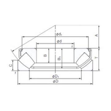 29422EX NACHI Thrust Roller Bearings