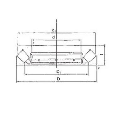 29416M FBJ Thrust Roller Bearings