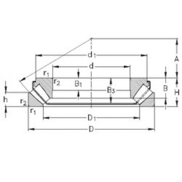 29413-EJ NKE Thrust Bearings