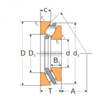29412 MPZ Thrust Roller Bearings