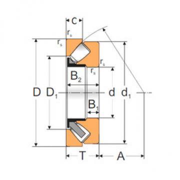 29416 MPZ Thrust Roller Bearings