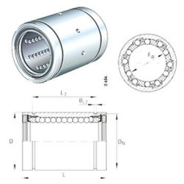 KBS12 INA Plastic Linear Bearing
