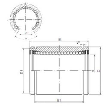 KB1232OP CX Linear Bearings