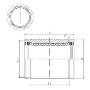 KB2045UU CX Linear Bearings