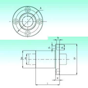 KBF16-PP  Linear Bearings