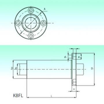 KBFL 40-PP  Plastic Linear Bearing