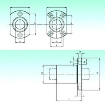 KBH 10  Plastic Linear Bearing