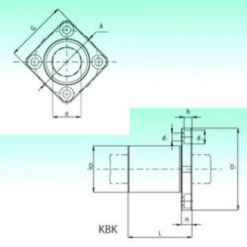 KBK 50  Plastic Linear Bearing