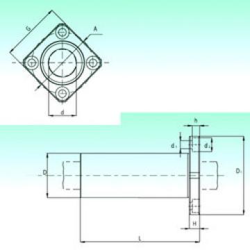 KBKL 60-PP  Plastic Linear Bearing