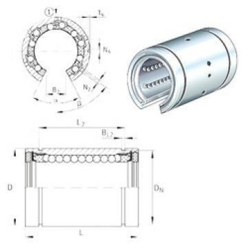 KBO50-PP-AS INA Plastic Linear Bearing