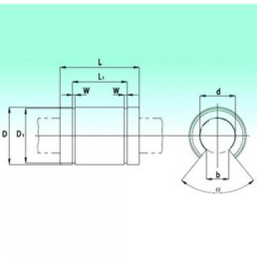 KBO2558-PP  Plastic Linear Bearing