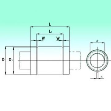 KBS50100  Plastic Linear Bearing