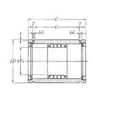 KD304565 NTN Plastic Linear Bearing