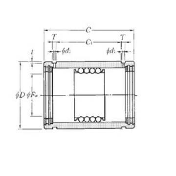 KD253745LL NTN Plastic Linear Bearing